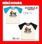 ●メール便送料無料●【MIKIHOUSE*ダブルB】レーシングカー★半袖Tシャツ【80・90cm】