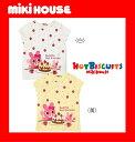 ●メール便送料無料●【MIKI HOUSE★ミキハウス】ホットビ♪ケーキでティータイム♪キャビットちゃん半袖Tシャツ【80・90cm】