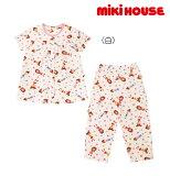 ●【MIKIHOUSE★ミキハウス】リーナちゃん♪半袖パジャマ【100・110・120・130cm】