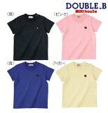 ●【ミキハウス*】EverydayDouble_B★シンプル半袖Tシャツ【80・90・100・110・120・130cm】
