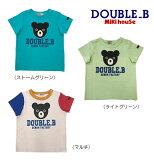 ●【MIKIHOUSE★ミキハウス】Bigプリント半袖Tシャツ【80・90cm】