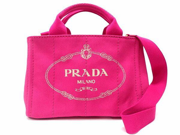 fba68de02e49 ... PRADA | プラダ | 『カナパミニトートTPM | /ハンドバッグ』 | フューシャーピンク | /FUXIA | /スモールトート |  /2WAYバッグ | /ショルダーストラップ付 ...