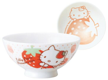 いちごキティ(染付) 茶碗
