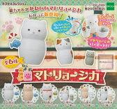 【コンプリート】カプセルコレクション 猫マトリョーシカ ★全6種セット