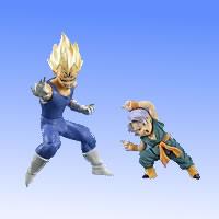 HGPLUS EX action pose Dragon Ball Z [2] destruction Prince baby Vegeta & trunks