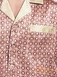 シルク100%パジャマ【赤格子】レッド 19匁絹100% メンズ/紳士 ルームウェアーll【送料無料】父の日 プレゼント ギフト【smtb-KD】【楽ギフ_包装選択】あす楽対応【RCP】
