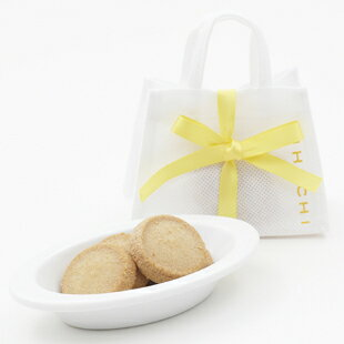 【ブライダル・プチギフト】かわいい手提げに入ったキハチのバニラクッキーです。ブライダルク...