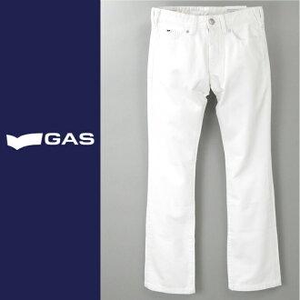 ■GAS men ■ bootcut white jeans denim underwear gas-m-p-38-612