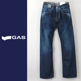 ■GAS men ■ ユーズド processing dune buggy jeans denim underwear gas-m-p-38-613