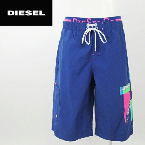 ■DIESEL ディーゼル メンズ■ダブルウエスト ポケット付き メンズ水着 男性水着 海パン ビーチウ...