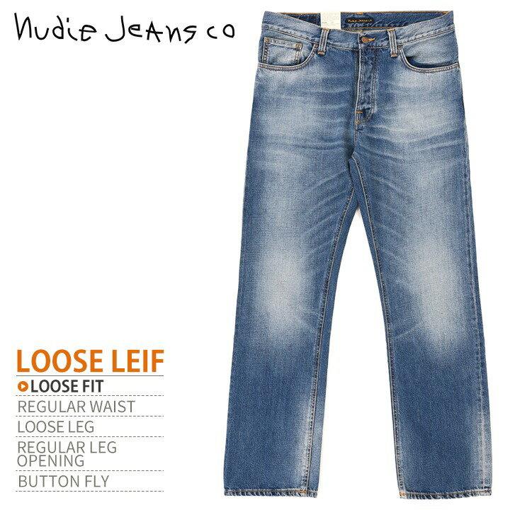 メンズファッション, ズボン・パンツ Nudie Jeans LOOSE LEIF TRUE INDIGOW2634L3032ndj-m-p-83-3 06 34,100