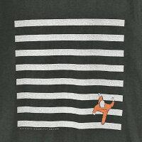 ■NudieJeansヌーディージーンズメンズ■Oネックラウンドネックプリント半袖Tシャツ【O-NECKTEEZEBRA】【サイズXS〜L】【ブラック×グレー】ndj-m-t-83-523詳細画像3