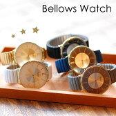 ジャバラウォッチ じゃばら 時計 腕時計 マット ゴールド シリコン バンド 伸びる 着脱 簡単 ユニセックス レディース メール便可 1年間のメーカー保証付