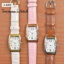 腕時計 レディース J-axis クロコ調ベルト トノー型ウォッチ アナログ シンプル 大人 かわいい おしゃれ レトロ アンティーク ギフト プレゼント 1年間のメーカー保証付 メール便送料無料