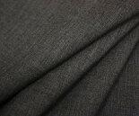 日本製ウール/ポリエステル混ミニツイル(綾織り)・杢グレー無地♪春夏秋用。スーツ,ジャケット,スカート,ワンピース,パンツ等に♪W巾150cm布生地布地服地通販激安ウール生地サマーウール