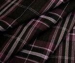 日本製上質ウール/ポリエステル混ツイル(綾織り)タータンチェック生地♪スカート、パンツ、ジャケットに♪バッグや帽子、インテリア使いも♪W巾150cm布生地布地服地通販激安チェックウール生地チェック柄