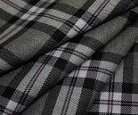 日本製上質ウール/ポリエステル混ツイル(綾織り)タータンチェック生地♪スカート、パンツ、ジャケットに♪バッグや帽子、インテリア使いも♪W巾150cm布生地布地服地通販チェックウール生地チェック柄