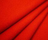日本製ウール100%梳毛紡毛先染めカルゼ(フランス綾)・発色きれいなオレンジ♪ソフトであったかい風合い♪W巾145cm布生地布地服地通販激安ウールウール生地綾織り無地