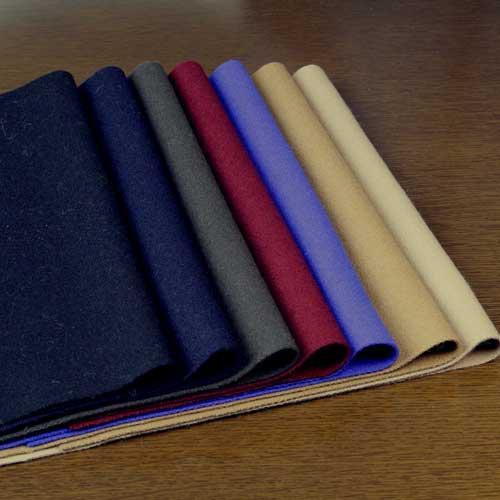ウール【TX38030】【無地】【ウール生地】カラー全7色【一反単位の販売】【ウールメルトン】TX38030☆ジャケットやコート ポンチョに最適:生地のお店オガワ