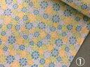 生地ショップ丸美で買える「あざみ柄綿プリント生地110cm巾×10cm単位」の画像です。価格は63円になります。