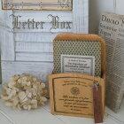 LetterBox/ナチュラルな木製のレターボックス・フラワーアレンジのケースにもおすすめ