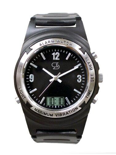 Wake V(ウエイク ブイ) 強力振動腕時計 もう安心してお出掛けの時間...