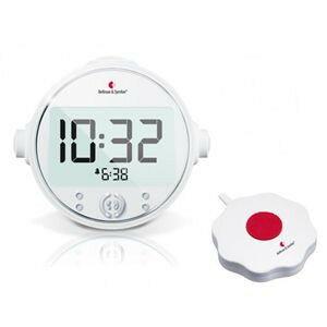 ベルマンアラームクロック プロ 振動+光+音の強力振動目覚し時計 ...