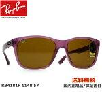 [Ray-Ban レイバン] RB4181F 1148 57 [サングラス]