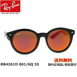 [Ray-Ban レイバン] RB4261D 601/6Q 55