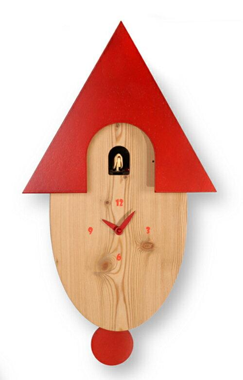 【イタリア製】【外国製 手作り 時計】【鳩 時計】Pirondini(ピロンディーニ)イタリア職人のハンドメイドクロック Natural カッコー時計(振り子付き) art802[送料無料]【楽のし対応】【成人式 お祝い】【父の日】【クリスマス】:Rocobi