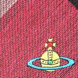 VivienneWestwoodヴィヴィアンウエストウッドネクタイAW2015モデル24t85_p42color3レッドチェック柄ワンポイントロゴ[ビジネスプレゼント就職祝い卒業記念昇進祝い卒業式成人式バレンタイン父の日クリスマスXmas]