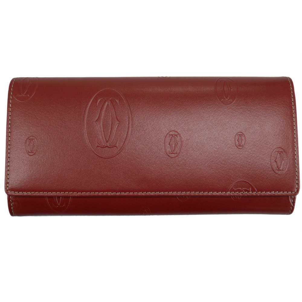 カルティエ Cartier Happy Birthday 長財布 L3001495 レッド 赤 レディース 女性用 [ギフト プレゼント ラッピング無料 お祝い 母の日 クリスマス]:Rocobi