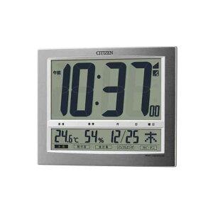 シチズン 電波時計 掛置兼用 8RZ140-019 パルデジットワイド140 デジタル CITIZEN リズム時計工業 ...