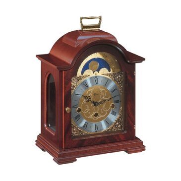 Hermle [ヘルムレ] 高級インテリアクロック Table Clock テーブルクロック 置き時計 マホガニー材 機械式 22864-070340[送料無料]【成人式 お祝い】【父の日】【クリスマス】