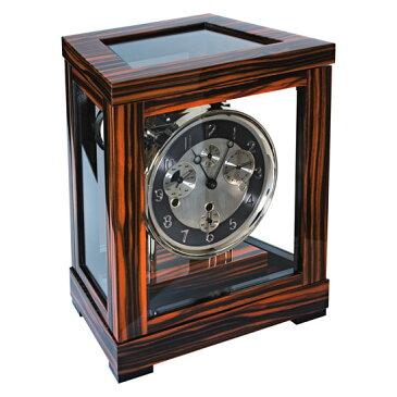 Hermle [ヘルムレ] 高級インテリアクロック Table Clock テーブルクロック 置き時計 天然木機械式ガラス 22966-460352[送料無料]【成人式 お祝い】【父の日】【クリスマス】