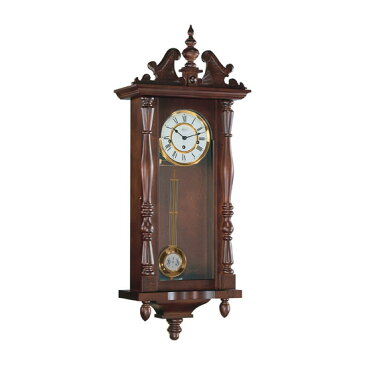 Hermle [ヘルムレ] 高級インテリアクロック Wall Clock 壁掛け時計 振り子 クルミ材 機械式木製 70110-030341[送料無料]【成人式 お祝い】【父の日】【クリスマス】