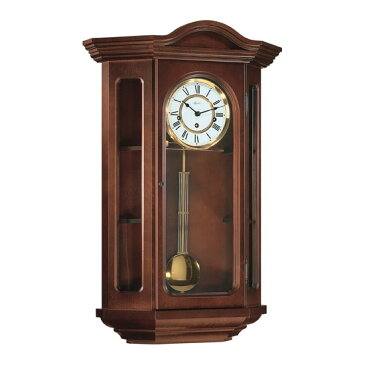 Hermle [ヘルムレ] 高級インテリアクロック Wall Clock 壁掛け時計 振り子 クルミ材 機械式木製 70305-030341[送料無料]【成人式 お祝い】【父の日】【クリスマス】