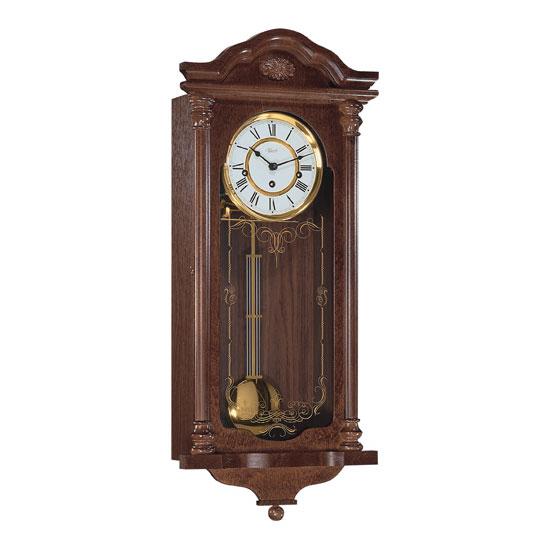 Hermle [ヘルムレ] 高級インテリアクロック Wall Clock 壁掛け時計 振り子 クルミ材 機械式木製 70509-030341[送料無料]【成人式 お祝い】【父の日】【クリスマス】:Rocobi