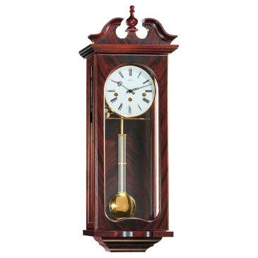 Hermle [ヘルムレ] 高級インテリアクロック Wall Clock 壁掛け時計 振り子 マホガニー材 機械式木製 70742-070341[送料無料]【成人式 お祝い】【父の日】【クリスマス】
