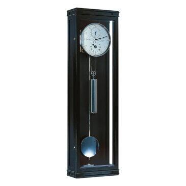 Hermle [ヘルムレ] 高級インテリアクロック Wall Clock 壁掛け時計 振り子 黒ブラックピアノ仕上げ 機械式限定品 70875-740761[送料無料]【成人式 お祝い】【父の日】【クリスマス】