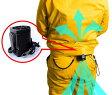 爽快ジェットファン2風速3割UP洋服クリップ滑り止め付きミムゴ365充電式作業着に取り付けられる小型ファンバッテリー付属