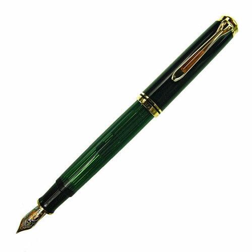 [送料無料]【Pelikan】ペリカン スーベレーン M800 グリーン縞 万年筆 筆記具[ギフト プレゼント 成人式 お祝い 父の日]【ホワイトデー】【クリスマス】:Rocobi
