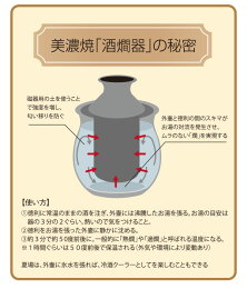 美濃焼「酒燗器」の秘密
