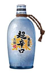 辛口の極み「生もと超辛口徳利ボトル720ml」