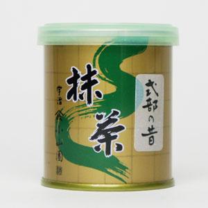海外販売専用商品日本茶 京都 宇治 抹茶 薄茶山政小山園 抹茶 式部の昔 30g缶入無添加 無着色 お菓子作り 業務用日本国内への発送の場合、消費税を加算させていただきます。
