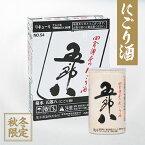 【10月17日出荷】菊水 にごり酒 五郎八 180ml缶(30本詰)