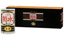 酒粕焼酎を使った、こだわりの酒。薫香ふなぐち菊水一番しぼり200ml缶(5本詰)
