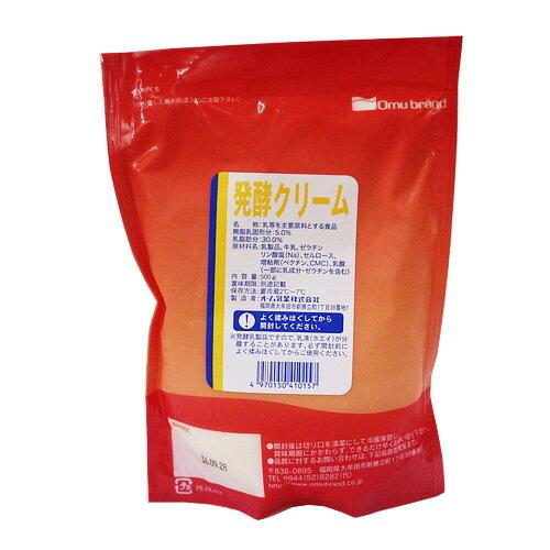 オーム 発酵クリーム 500g / 製菓材料 パン材料 オーム乳業 サワークリーム