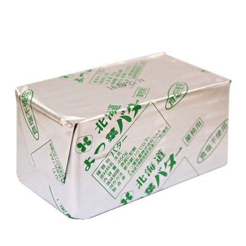 よつ葉 無塩バター 450g / よつば 製菓材料 パン材料 油脂