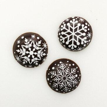 スノーダークアソート 9個入り / クリスマス チョコプレート オーナメント